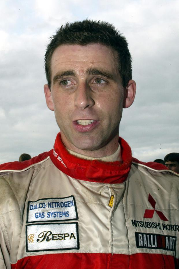 Rory Galligan was one of Ireland's rising rally stars