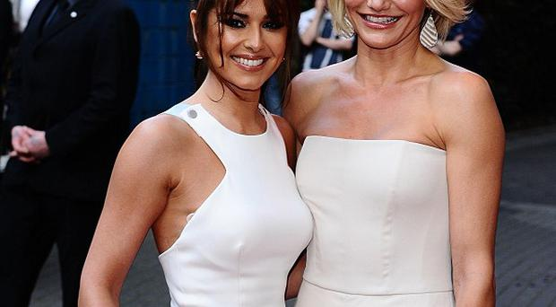 Cheryl Cole and Cameron Diaz stepped out for the premiere of What To Expect When You're Expecting