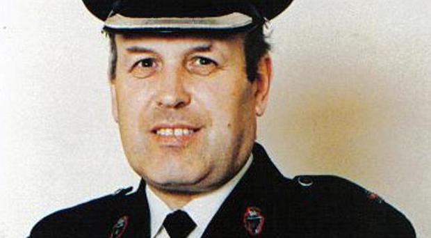 RUC officer Superintendent Bob Buchanan was murdered during the Troubles
