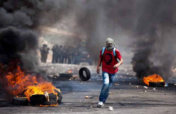 Strong opposition: anti-Israeli demonstrations on the West Bank