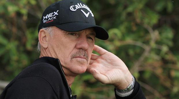 Pete Cowen (pictured) said he has never seen Darren Clarke as calm during a tournament as he was during last year's Open