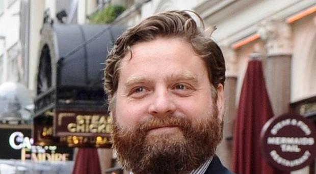 Zach Galifianakis could be taking the lead role in A Confederacy Of Dunces