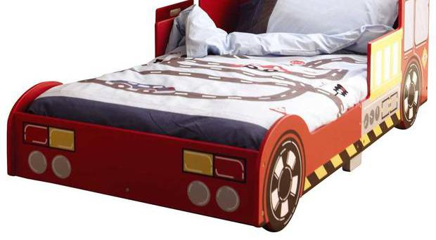<b>1. GLTC Fire Engine Toddler Bed</b><br/> £124, gltc.co.uk Few toddlers can resist a fire engine, so what better way to persuade them that bedtime is fun?
