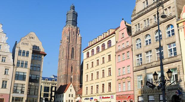 Wroclaw is preparing for possible trouble when Euro 2012 fans arrive