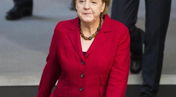 German Chancellor Angela Merkel has reportedly accepted the need for an EU growth pact