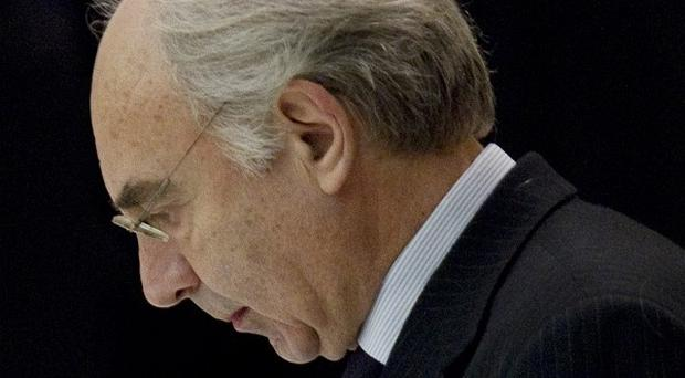 Vatican bank overseers have unanimously passed a no-confidence vote in its head Ettore Gotti Tedeschi (AP)