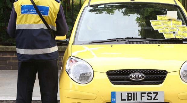 Councils handed out more parking tickets last year, a survey suggests
