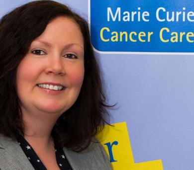 Suzy McIlveen, Regional Fundraising Events Manager foR Marie Curie Cancer Care in Northern Ireland
