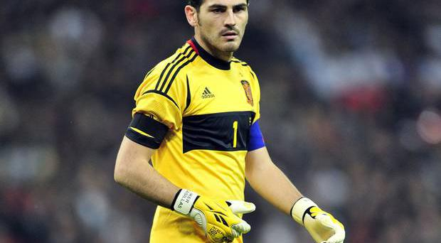 <b>Iker Casillas (Spain)</b><br/> The Real Madrid goalkeeper will captain his national side in Poland. With over 120 appearances under his belt, the experienced 31-year-old is now the most capped Spanish player of all-time. It's fair to say that he's part of the furniture – the trusty family three-piece suite, in fact. The reigning World and European Champion was named the best goalkeeper of the 2010 World Cup - 'one to watch' would be an understatement.