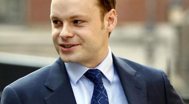 Adam Smith, former special adviser to Culture Secretary Jeremy Hunt, arrives at the Leveson Inquiry (AP)