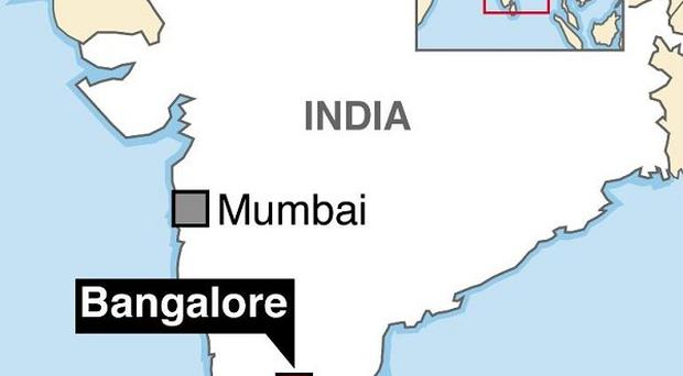 Graphic locating where a Briton died and another went missing following a trip along a crocodile-infested river