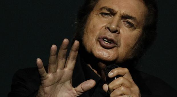 Engelbert Humperdinck during rehearsals for the final of the Eurovision Song Contest (AP/Sergey Ponomarev)