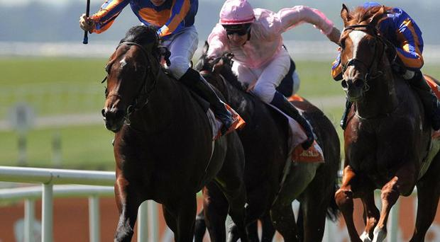 Joseph O'Brien hits the front on Power
