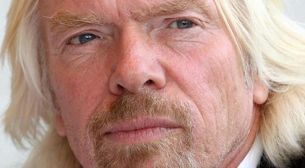 Sir Richard Branson said the Government needed to provide 'action to back the rhetoric'
