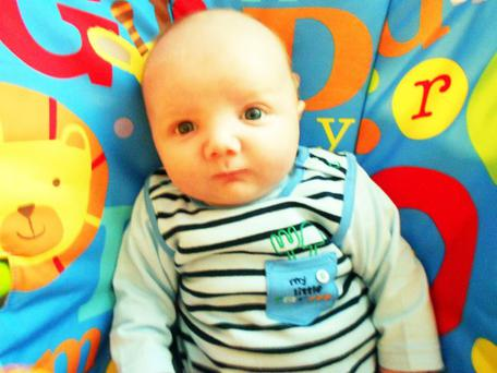 Jack William Busby first grandchild for John & Alison Beatty, Bangor born 19 February 2012. <p><b>To send us your Baby Pics <a href=