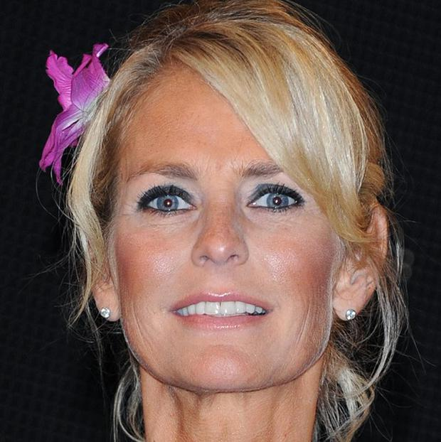 TV presenter Ulrika Jonsson renewed her marriage vows on a Barbados beach