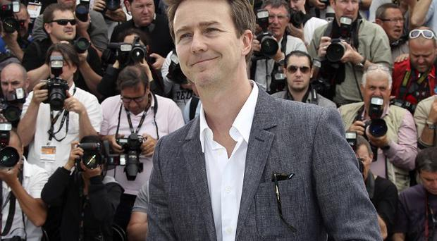 Edward Norton wouldn't reveal details of his character in the latest Bourne movie
