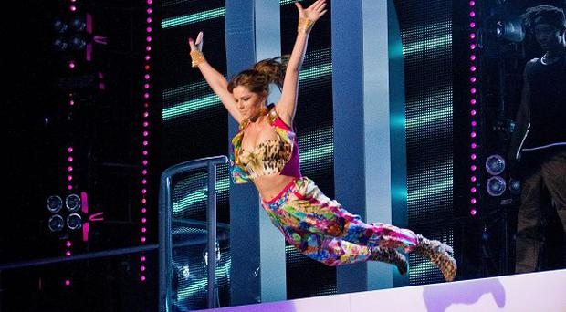 Cheryl Cole made a spectacular entrance on The Voice