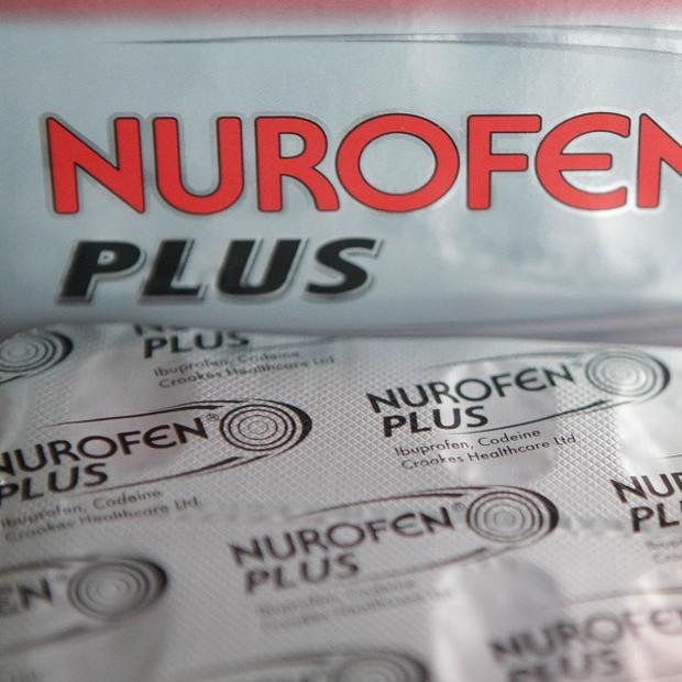 A codeine addict who contaminated packets of Nurofen Plus in a ruse to fund his habit has been jailed for 18 months