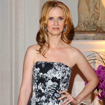 Cynthia Nixon has wed her longterm girlfriend, three years after getting engaged