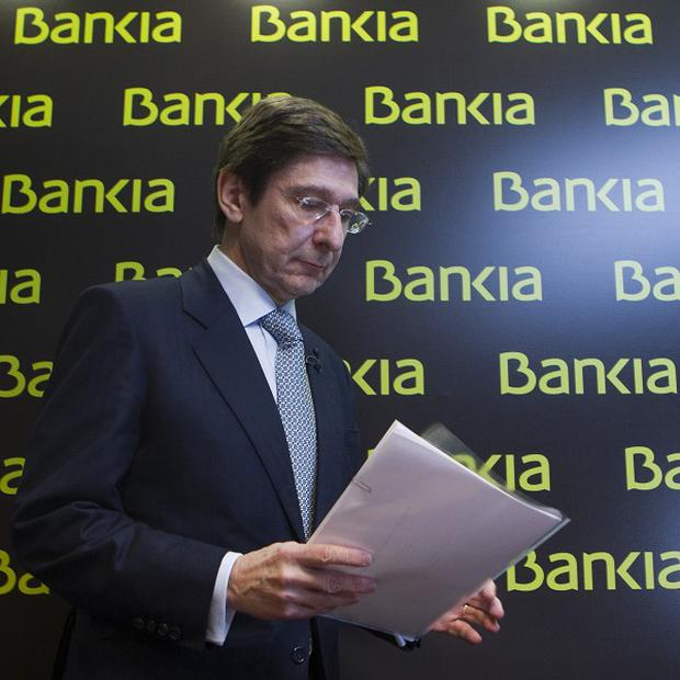 Spain's borrowing costs spiked as concerns about the Bankia bailout intensified (AP)