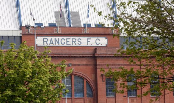 The transfer embargo was imposed on Rangers as punishment for bringing football into disrepute by failing to pay £13million in tax last season