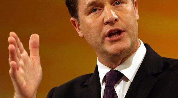 Nick Clegg says the UK's 'broken establishment' is past its sell by date