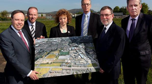 Nigel Dodds, William Humphrey, Caral Ni Chuilin, Gerry Kelly, Nelson McCausland and Alban Maginness all backed the Girdwood proposals last week