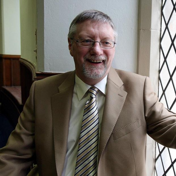The new Presbyterian Moderator in Ireland Dr Roy Patton addressed the general assembly in Belfast