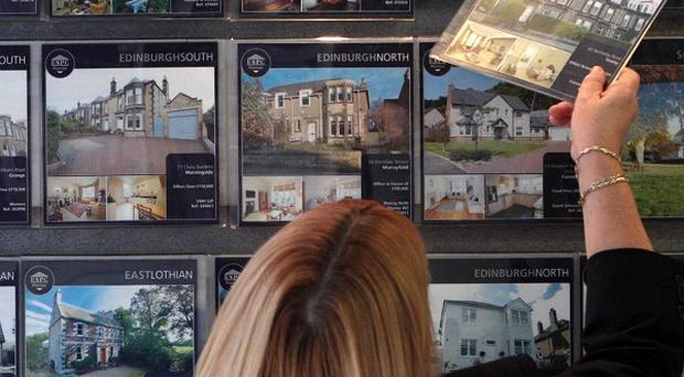 Thirty-five per cent of properties in the survey of 115 estate agents sold at or below 100,000 pounds