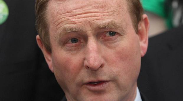 Taoiseach Enda Kenny said backing the European fiscal treaty would help to boost Ireland's economic recovery