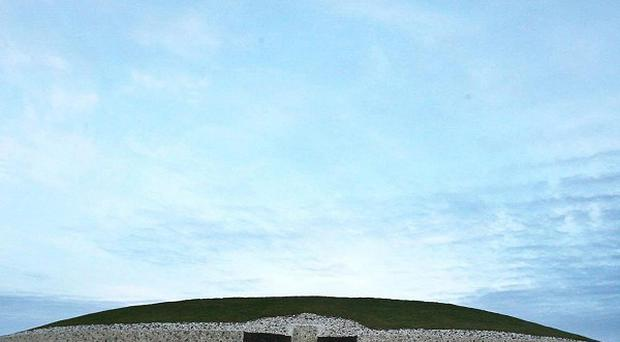 Newgrange Neolithic Tomb in Co Meath is one of Ireland's heritage sites, which are worth 700 million euro, a survey said