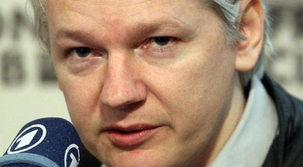 WikiLeaks founder Julian Assange who today lost his Supreme Court fight against extradition to Sweden