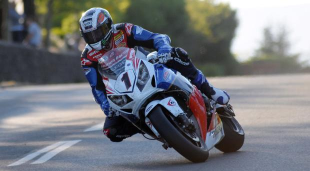 John McGuinness is in great form at the Isle of Man TT
