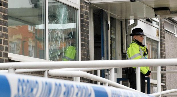 Canning Circus police station in Nottingham was firebombed during riots in the city last summer
