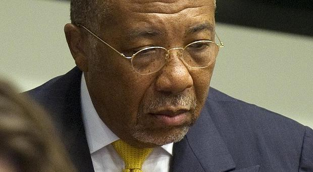 Former Liberian President Charles Taylor has been jailed for 50 years by the Special Court for Sierra Leone in Leidschendam, Netherlands (AP Photo)