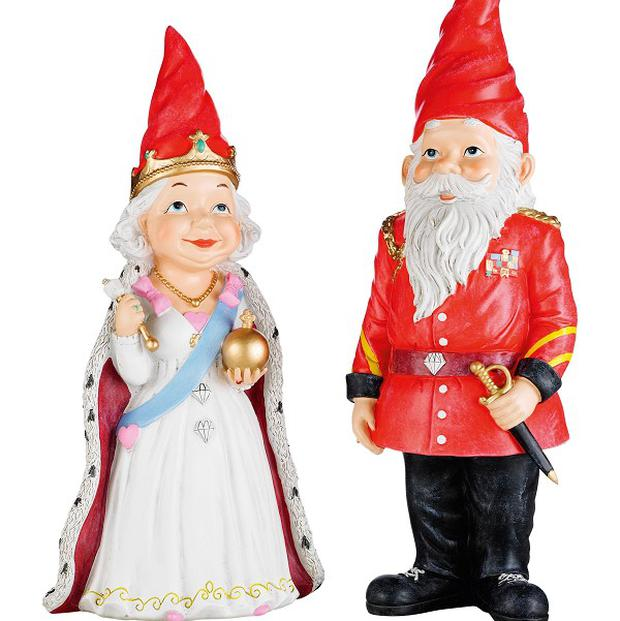 Diamond Jubilee gnomes have been flying off retailers' shelves