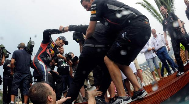 It's all fun and games in Monaco until someone loses a microphone