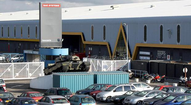 More than 300 jobs are to be axed at BAE Systems in Newcastle-upon-Tyne