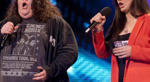 Britain's Got Talent finalists Jonathan and Charlotte are recording their debut album