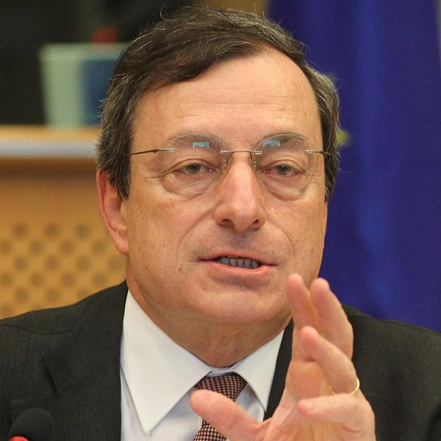 ECB chief Mario Draghi says eurozone leaders must set out a vision for the bloc (AP)