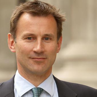 Culture Secretary Jeremy Hunt was backed by PM David Cameron after giving evidence to the Leveson Inquiry