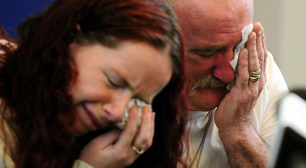 Mick Philpott and wife Mairead spoke to the media following the fire at their home