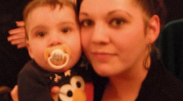 Melissa Crook and Noah died following a fire at their family home in Chatham Hill, Kent