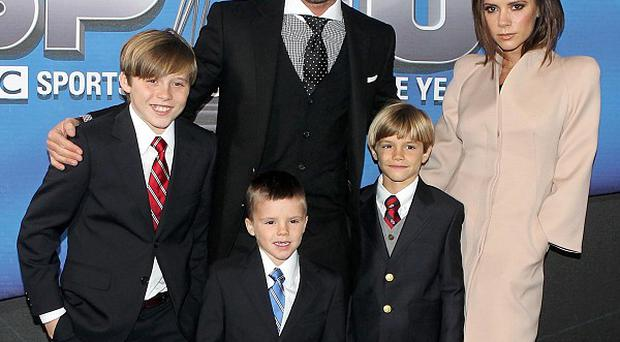 David Beckham hinted that he and Victoria might have more children one day