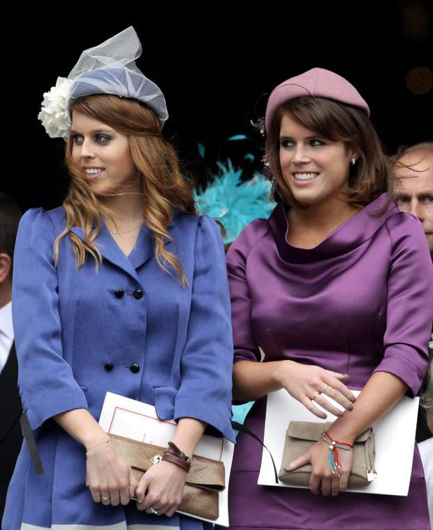 Beatrice and Eugenie