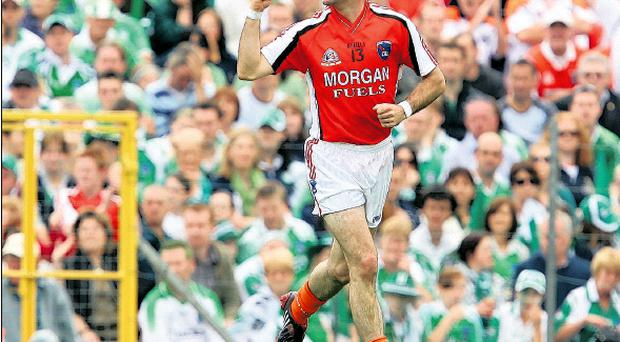 Steven McDonnell starred for Armagh as the county claimed a host of Ulster Championships and its first All Ireland title during the last decade