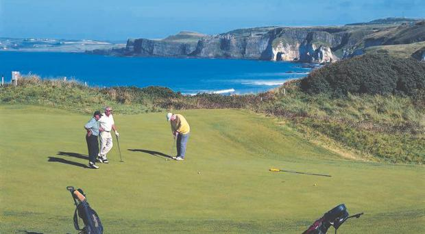 Cash injection: the event at Royal Portrush looks set to bring a major financial boost