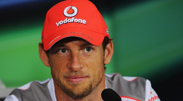 Jenson Button will be hoping he can be the first driver to claim a second grand prix win this season