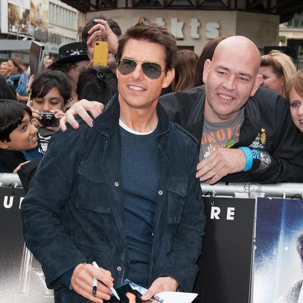 Tom Cruise plays singer Stacee Jaxx in Rock Of Ages
